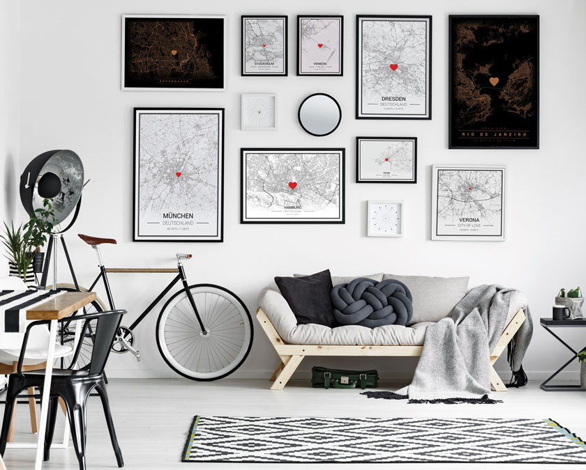 mapify custom map posters anywhere in the world